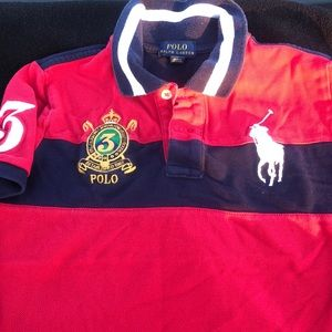 Big Boys Size 7-Polo Ralph Lauren Shirt